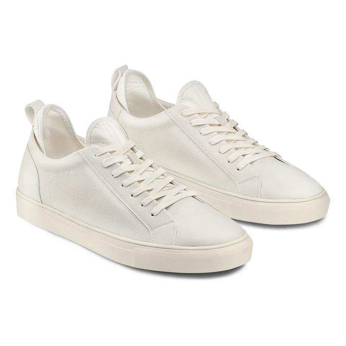 Men's shoes, Blanc, 841-1374 - 16