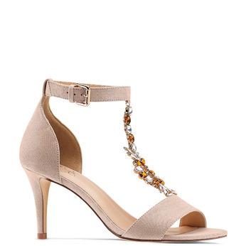 Women's shoes insolia, Beige, 769-0154 - 13