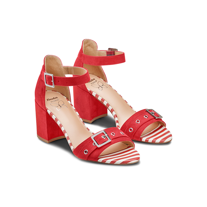 Women's shoes insolia, Rouge, 769-5245 - 16