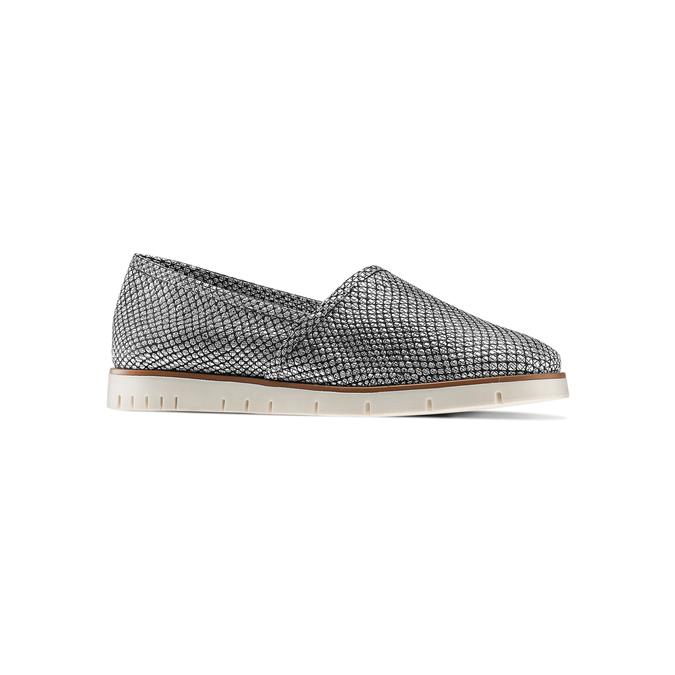 Women's shoes flexible, Blanc, 515-1148 - 13