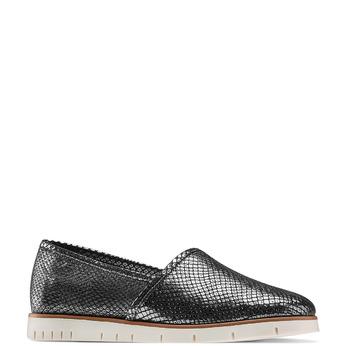 Women's shoes flexible, Gris, 515-2148 - 13