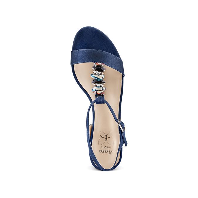 Women's shoes insolia, Bleu, 669-9131 - 17