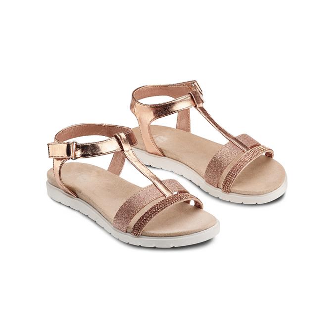 Childrens shoes mini-b, Rouge, 361-5171 - 16