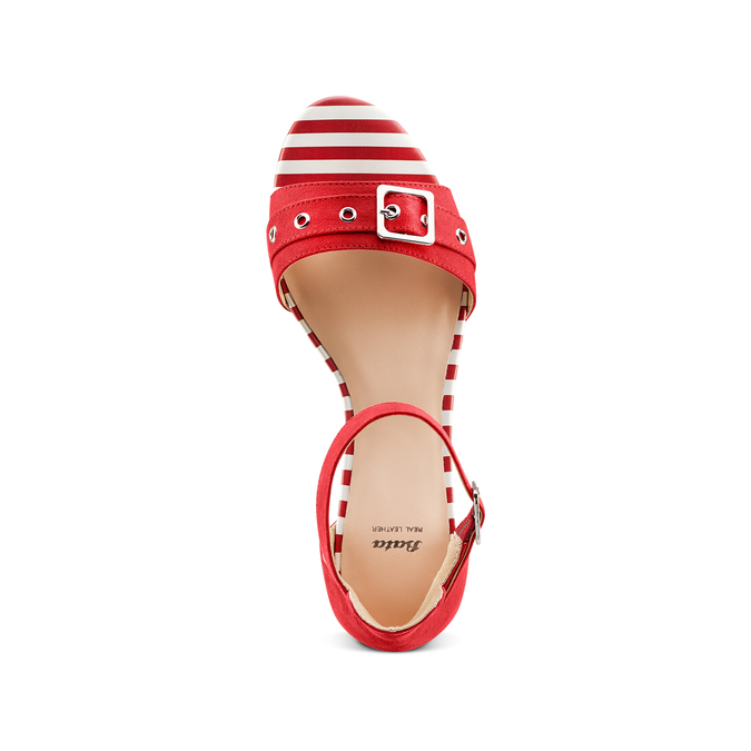 Women's shoes insolia, Rouge, 569-5277 - 17