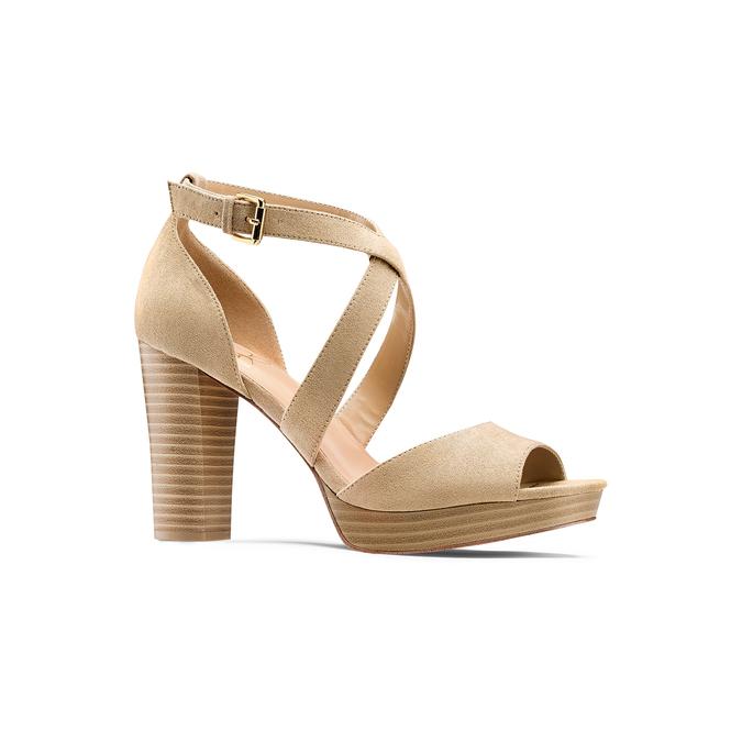 Women's shoes insolia, Jaune, 769-8263 - 13