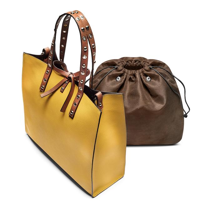 Bag bata, Jaune, 961-8296 - 17