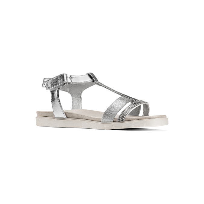 Childrens shoes mini-b, Blanc, 361-1171 - 13