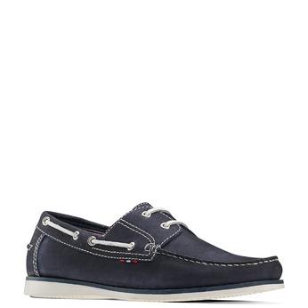 Men's shoes bata, Bleu, 854-9142 - 13