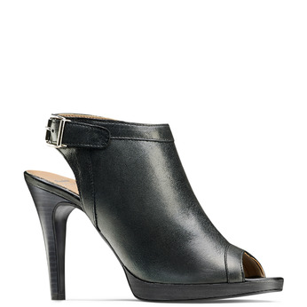 Women's shoes bata, Noir, 724-6187 - 13