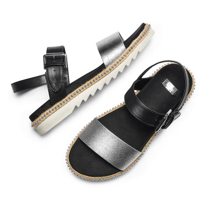 Women's shoes bata, Blanc, 561-1361 - 26