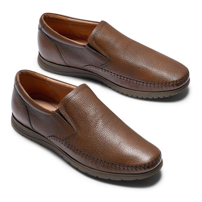 Men's shoes, Brun, 854-4118 - 26