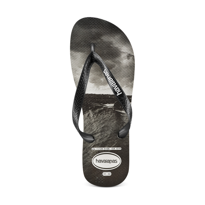Men's shoes havaianas, Noir, 872-6273 - 17