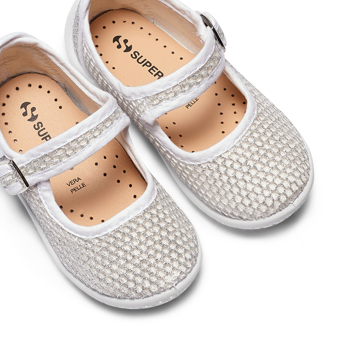 Childrens shoes superga, Blanc, 269-1107 - 26