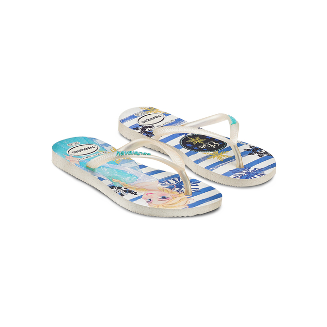 Childrens shoes havaianas, Blanc, 372-1229 - 16