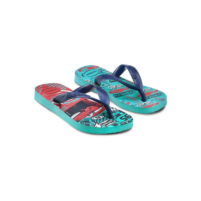 Childrens shoes havaianas, Bleu, 372-9228 - 16