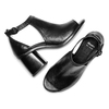 Women's shoes bata, Noir, 724-6297 - 26