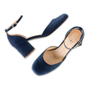 Women's shoes insolia, Bleu, 729-9208 - 26