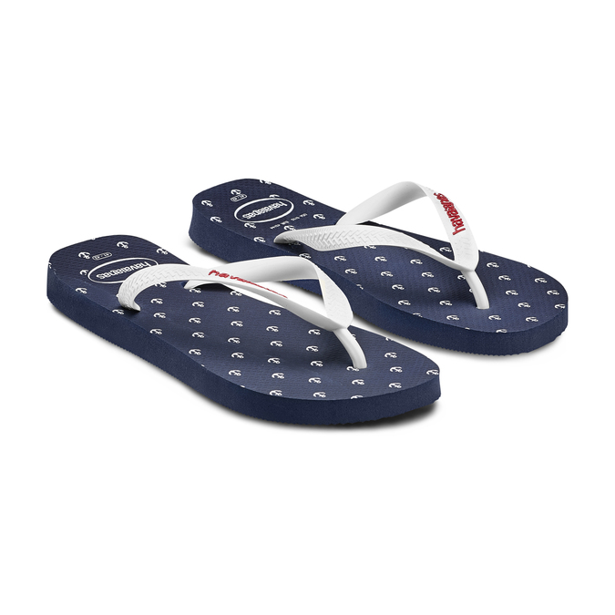 Men's shoes havaianas, Blanc, 872-1271 - 16