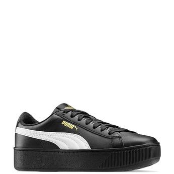 Chaussures Femme puma, Noir, 504-6704 - 13