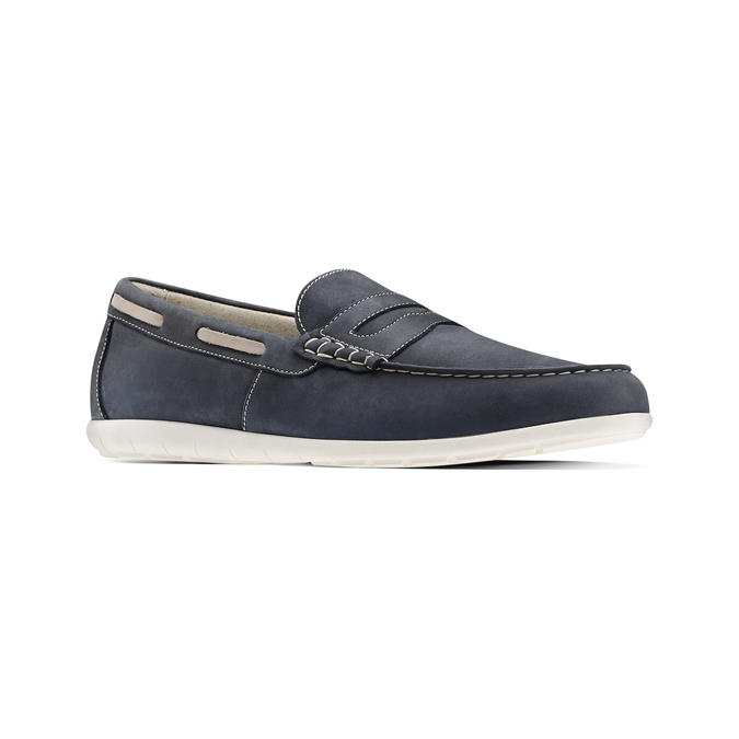 Men's shoes bata, Bleu, 856-9150 - 13