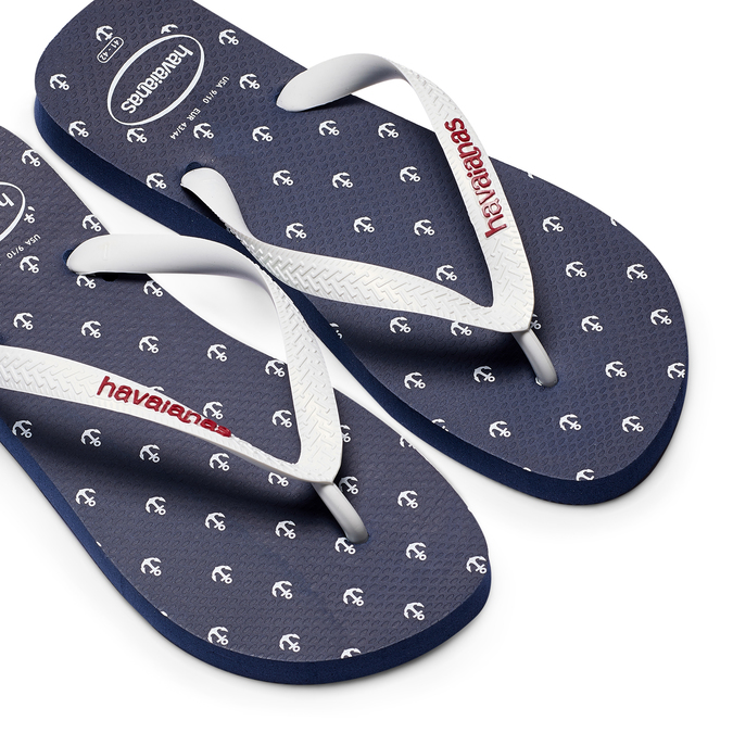 Men's shoes havaianas, Blanc, 872-1271 - 26
