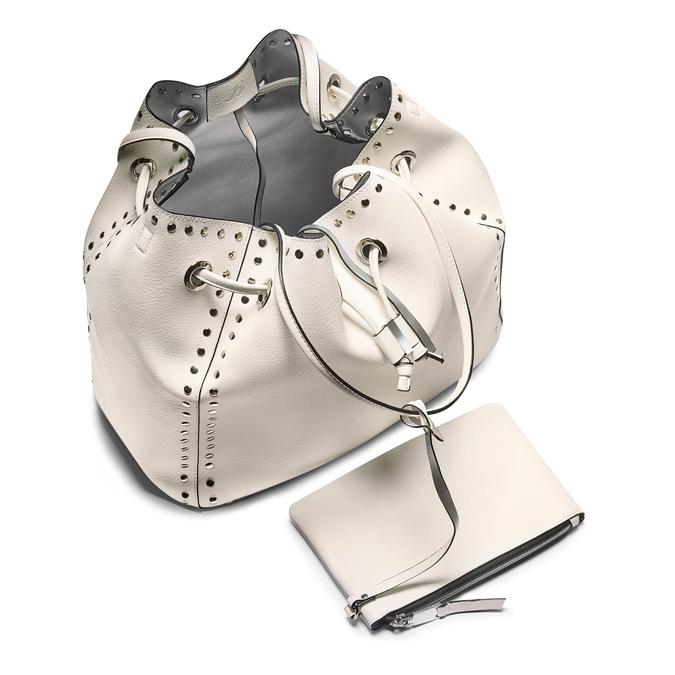 Bag bata, Blanc, 961-1314 - 16