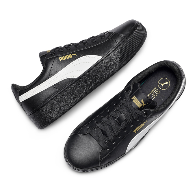 Women's shoes puma, Noir, 504-6704 - 26