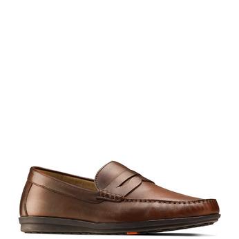 Men's shoes flexible, Brun, 854-4127 - 13