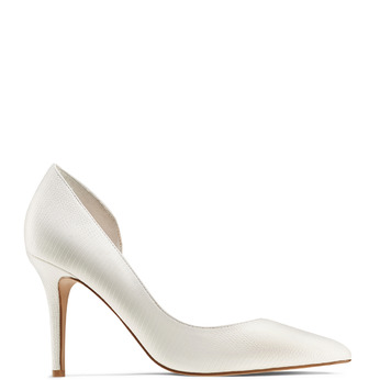 Women's shoes, Blanc, 721-1302 - 13
