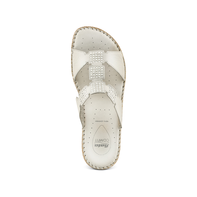 Women's shoes, Blanc, 574-1439 - 17