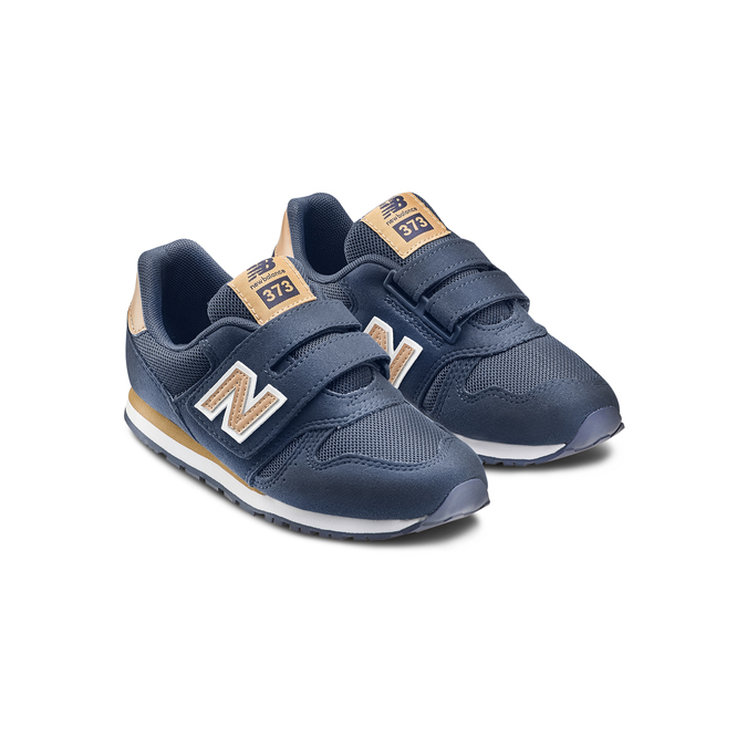 Childrens shoes new-balance, Bleu, 309-9200 - 16