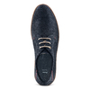 Men's shoes bata, Bleu, 853-9201 - 17