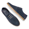 Men's shoes bata, Bleu, 853-9201 - 26