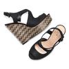 Women's shoes insolia, Noir, 769-6255 - 26