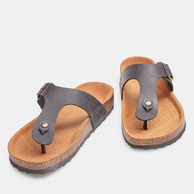 BATA Chaussures Homme bata, Noir, 866-6239 - 26