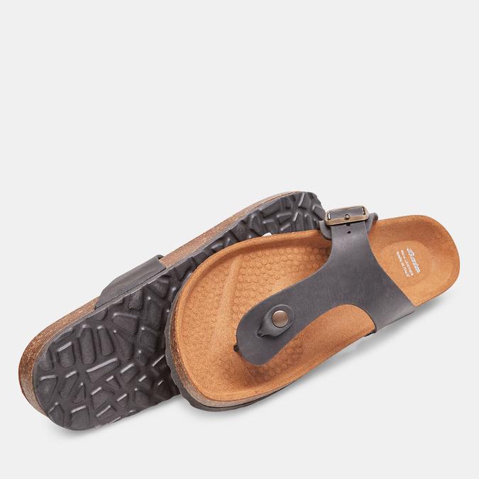 BATA Chaussures Homme bata, Noir, 866-6239 - 19