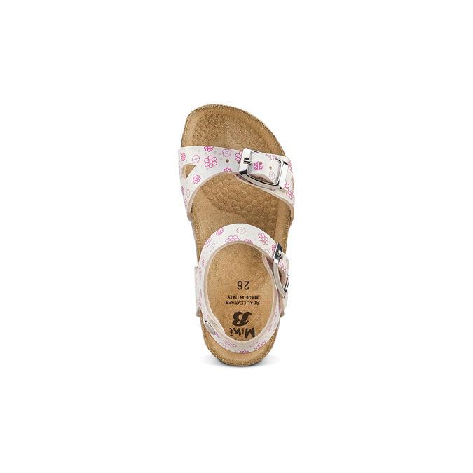Childrens shoes mini-b, Blanc, 261-1212 - 17