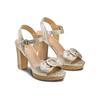 Women's shoes insolia, Jaune, 761-8175 - 16
