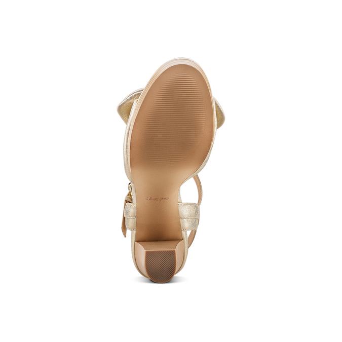 Women's shoes insolia, Jaune, 761-8175 - 19