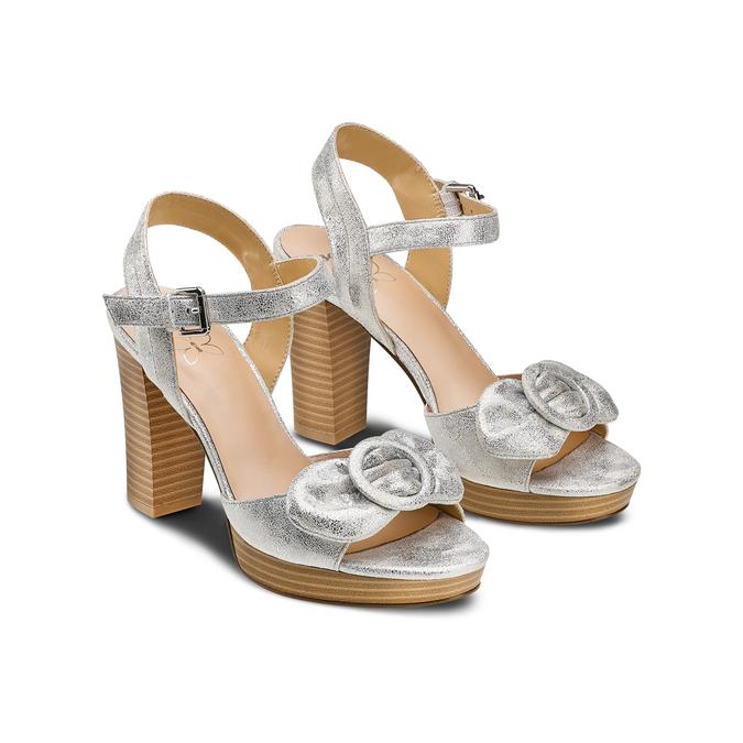 Women's shoes insolia, Blanc, 769-1175 - 16