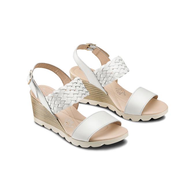 BATA TOUCH ME Chaussures Femme bata-touch-me, Blanc, 764-1309 - 16