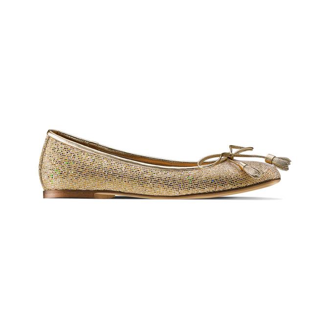 Women's shoes bata, Jaune, 521-8203 - 13