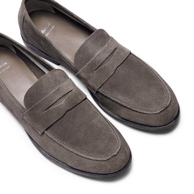 Men's shoes bata, Brun, 853-2129 - 26