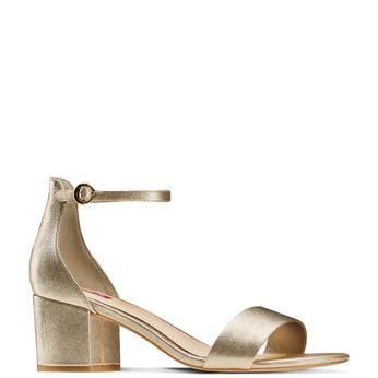 Women's shoes bata-rl, Jaune, 761-8334 - 13