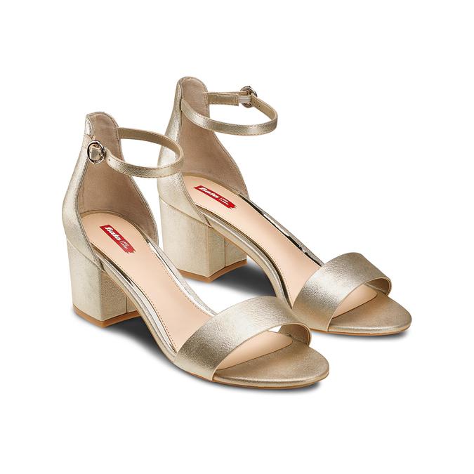 Women's shoes, Jaune, 761-8334 - 16