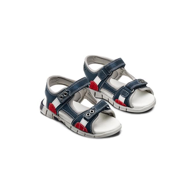 Childrens shoes mini-b, Bleu, 263-9205 - 16