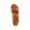 Women's shoes bata, Brun, 564-3210 - 17