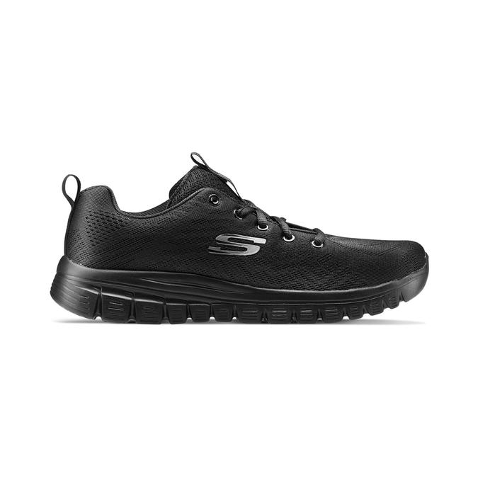 Chaussures Femme skechers, Noir, 509-6318 - 26