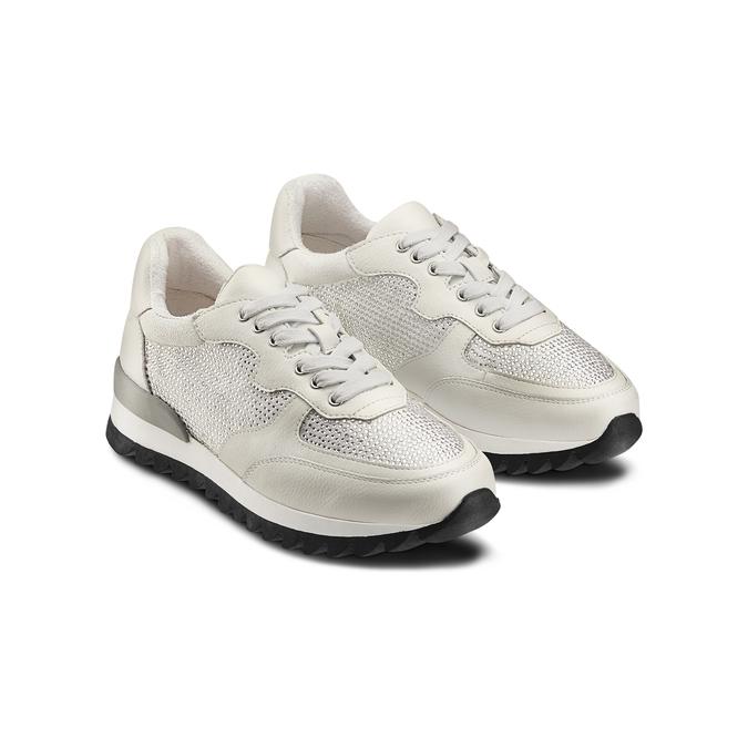 BATA Chaussures Femme bata, Blanc, 541-1312 - 16