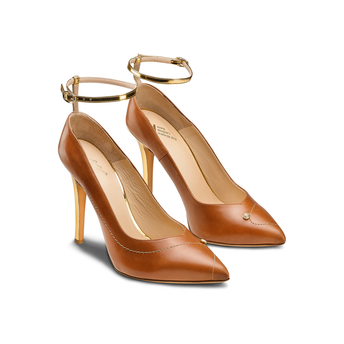 Women's Shoes bata, Brun, 724-3332 - 16